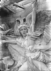 Arc de Triomphe de l'Etoile - Buste de La Marseillaise