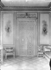 Palais de l'Elysée - Salon d'argent, porte, au sud