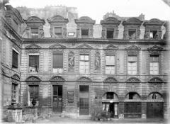 Hôtel Béthune-Sully - Façade principale sur la cour, ensemble