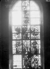 Eglise Saint-Mathurin - Vitrail de l'Arbre de Jessé, ensemble