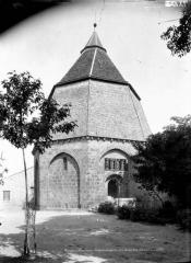 Ancien Hôtel-Dieu - Chapelle octogonale, côté ouest