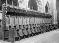 Ancienne cathédrale Saint-Paul-Aurélien - Stalles, côté sud