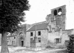 Eglise abbatiale Saint-Pierre - Côté sud
