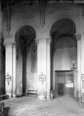 Eglise abbatiale Saint-Pierre - Travées de la nef