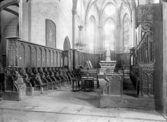 Eglise abbatiale Saint-Pierre - Stalles, ensemble