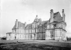Domaine national : Château de Maisons-Laffitte - Ensemble ouest