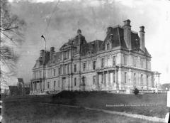 Domaine national : Château de Maisons-Laffitte - Ensemble est et ancienne église