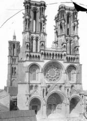 Ancienne cathédrale, actuellement église Notre-Dame, et cloître - Ensemble ouest