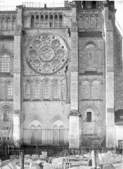 Ancienne cathédrale, actuellement église Notre-Dame, et cloître - Bras nord du transept