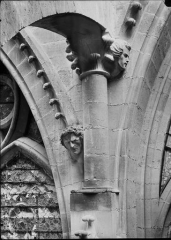 Cathédrale Notre-Dame - Chapiteau et tête d'amortissement