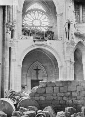Cathédrale Saint-Gervais et Saint-Protais - Travée de l'orgue