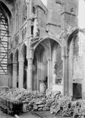 Cathédrale Saint-Gervais et Saint-Protais - Bas-côté nord, grande brèche