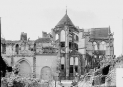 Cathédrale Saint-Gervais et Saint-Protais - Toit du bras sud du transept