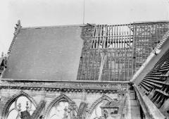Cathédrale Saint-Gervais et Saint-Protais - Toit du bras nord du transept