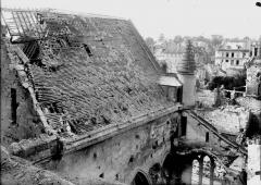Cathédrale Saint-Gervais et Saint-Protais - Toit de la chapelle des oeuvres