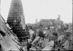 Cathédrale Saint-Gervais et Saint-Protais - Ensemble et tourelle de l'église Saint-Léger