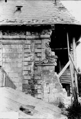 Pavillon de l'Arquebuse - Façade latérale