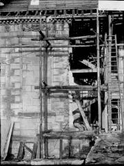 Pavillon de l'Arquebuse - Trumeau avant dépose