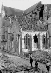 Cathédrale Saint-Gervais et Saint-Protais - Chapelle des oeuvres, intérieur