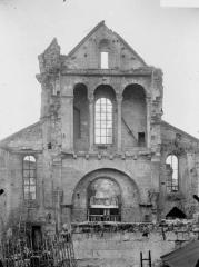 Ancienne église Saint-Pierre-au-Parvis - Façade, revers