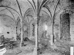 Ancien prieuré de Saint-Jean-du-Gray - Salle capitulaire, intérieur