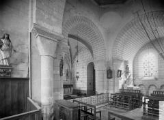 Eglise Notre-Dame - Transept, vue diagonale