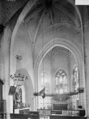 Eglise Saint-Rémi - Choeur et clocher, travée