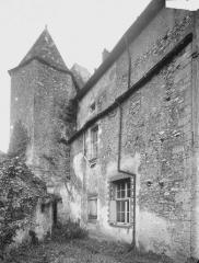 Ancienne abbaye bénédictine - Logis, tourelle d'escalier, au nord