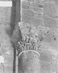 Ancienne abbaye bénédictine - Tour Saint-Paul, chapiteau du premier étage