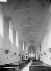 Eglise Notre-Dame-de-Fougeray - Nef, vue de l'entrée