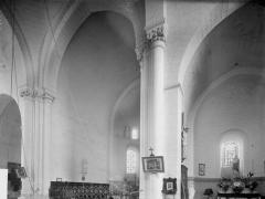 Eglise Notre-Dame-de-Fougeray - Choeur et transept, vue diagonale