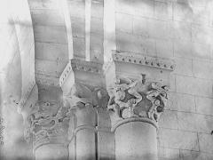 Eglise Notre-Dame-de-Fougeray - Chapiteaux de la croisée