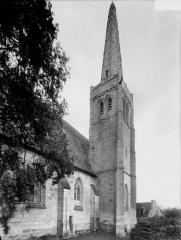 Eglise Saint-Maurice - Côté sud, clocher