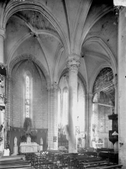 Eglise Saint-Mandé-Saint-Jean - Choeur, vue diagonale