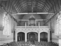 Eglise paroissiale Sainte-Eulalie - Nef et tribune des orgues