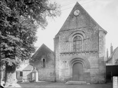 Eglise paroissiale Saint-Gilles - Façade ouest