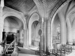 Eglise paroissiale Saint-Gilles - Choeur, vue diagonale