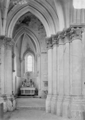 Eglise - Bas-côté nord et absidiole