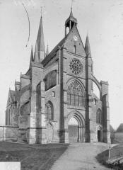 Eglise Saint-Julien et Saint-Jean-Baptiste - Ensemble nord-ouest