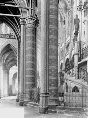 Ancienne collégiale Saint-Quentin - Bas-côté sud et choeur