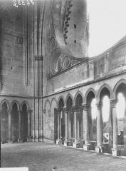 Ancienne abbaye de Saint-Jean-des-Vignes - Plate-forme du premier étage, au revers de la façade ouest