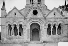 Eglise Notre-Dame - Porche, avant restauration