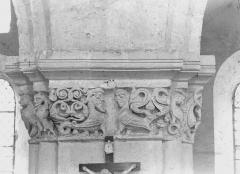 Eglise Notre-Dame - Nef, chapiteaux