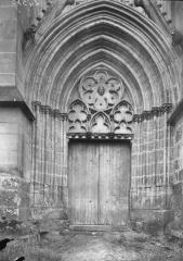 Eglise et chapelle - Portail nord