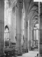 Ancienne abbaye - Eglise, bas-côté et nef