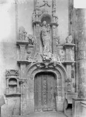 Ancienne abbaye - Eglise, porte de la sacristie