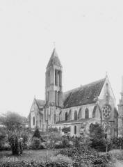 Ancienne abbaye Saint-Vincent - Eglise, ensemble nord-ouest