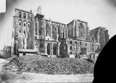 Ancienne collégiale Saint-Quentin - Ensemble sud