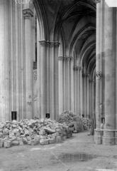 Ancienne collégiale Saint-Quentin - Bas-côté nord