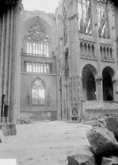 Ancienne collégiale Saint-Quentin - Bras nord du transept